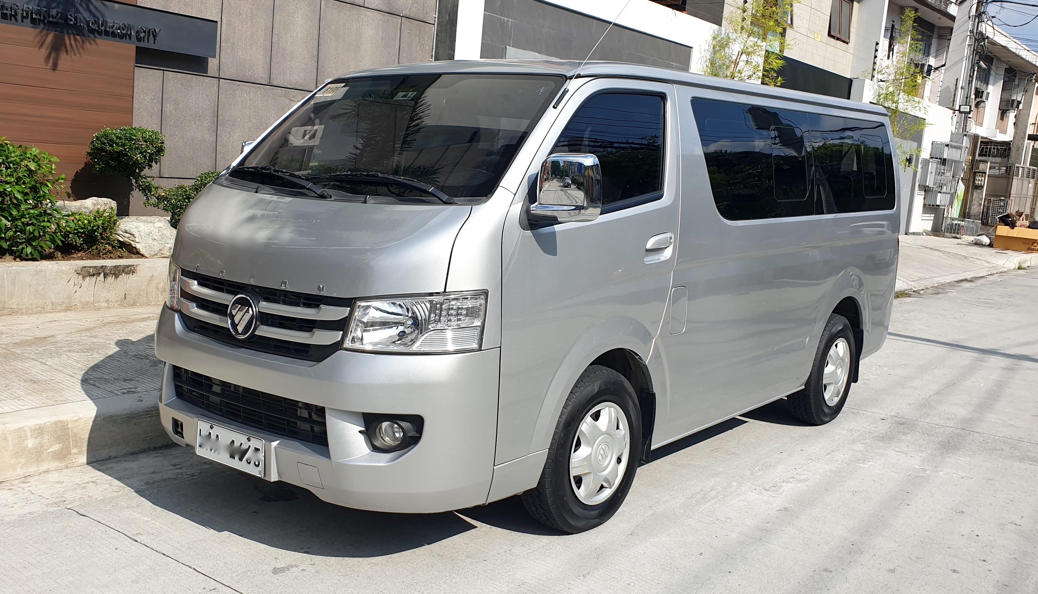 2016 Foton View Transvan
