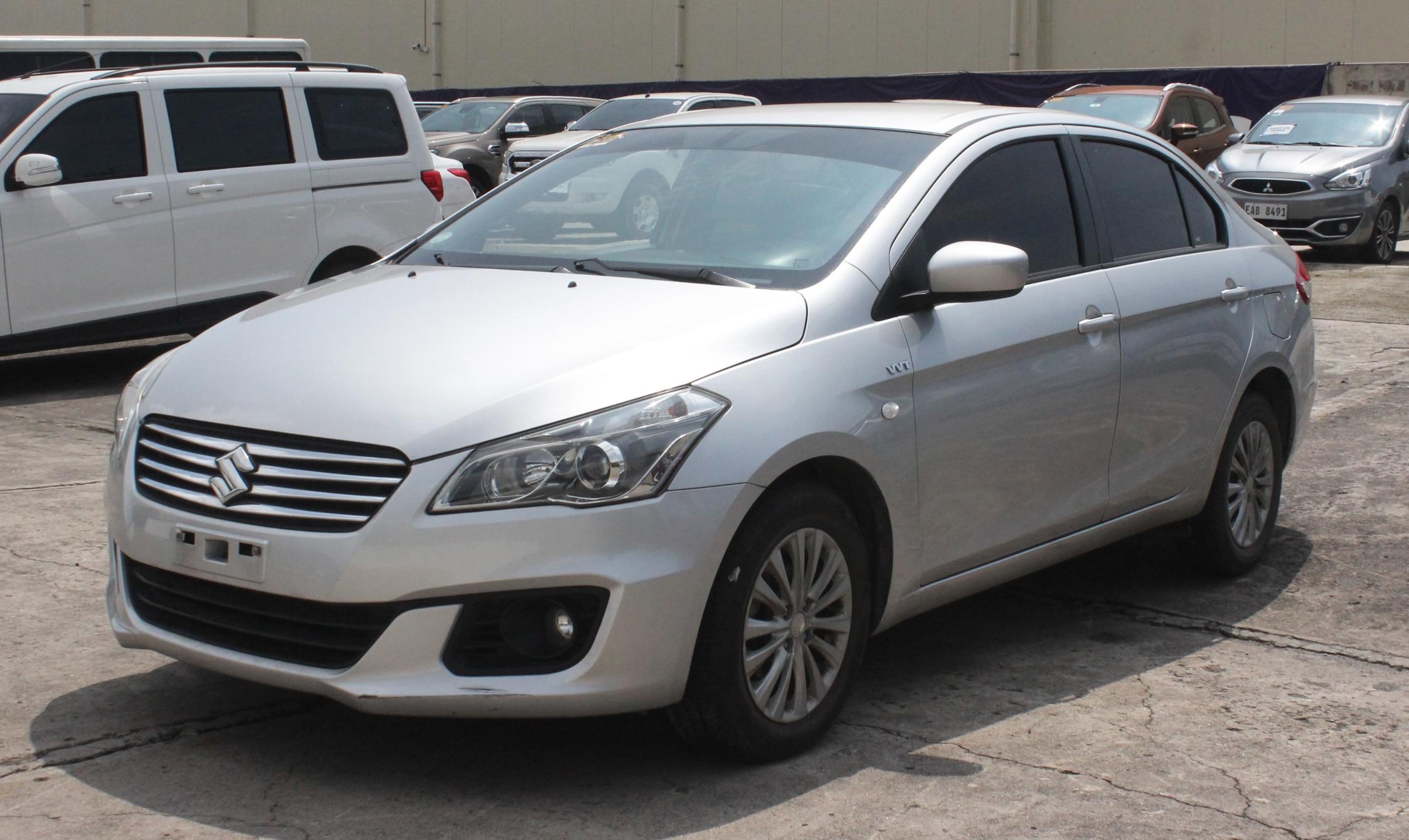 2018 Suzuki Ciaz