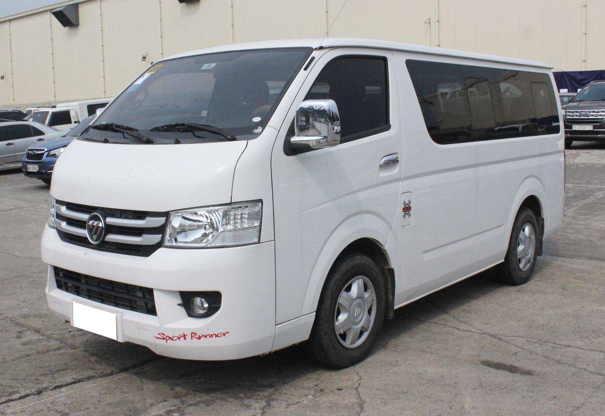 2018 Foton View Transvan