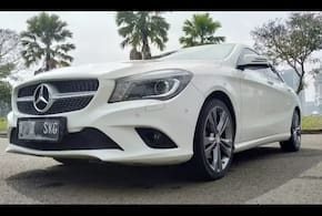 2014 Mercedes Benz CLA Shooting Brake